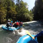 PLUS QA Team on White Water Rafting Company Trip