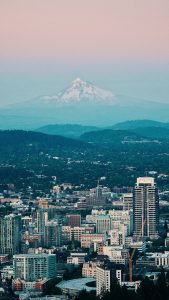 Photo of Portland skyline