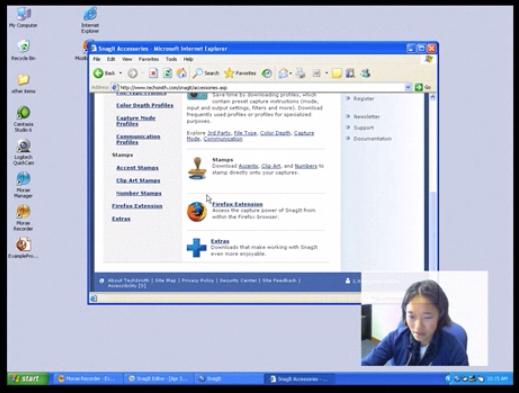 Screenshot of Morae usability testing platform