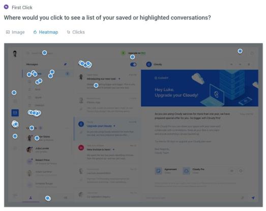 Screenshot of UsabilityHub usability testing platform