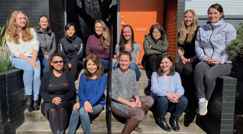Group photo of women employees at PLUS QA