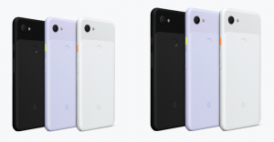 Pixel 3a phones