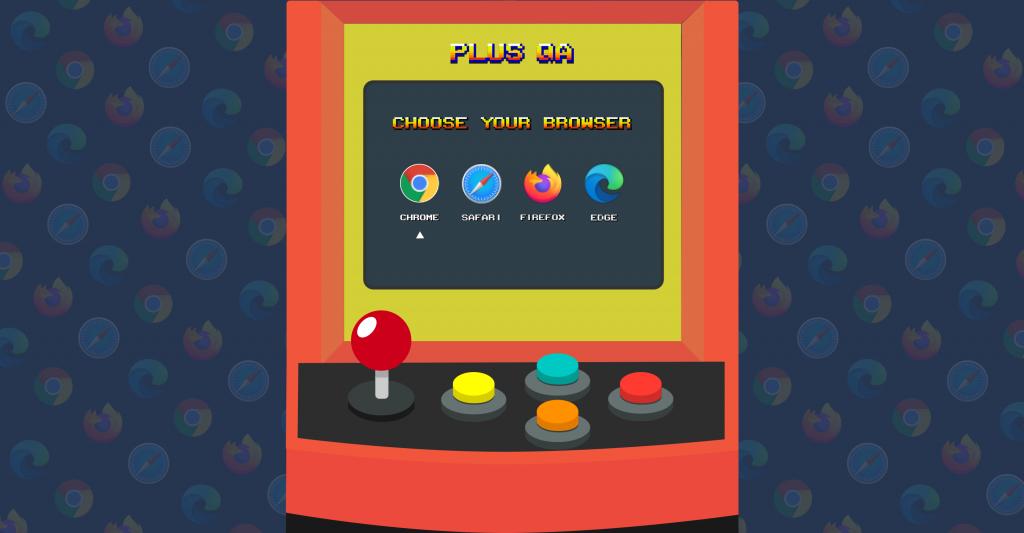 Browser arcade image