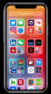 App library on iOS