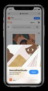 App clip on iOS