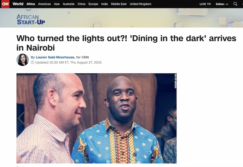 screenshot of CNN article highlighting Abdul's restaurant