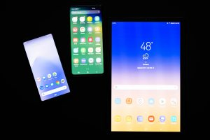 Various Android devices for app testing in 2021