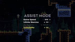 Assist Mode accessibility settings for Ratchet & Clank: Rift Apart