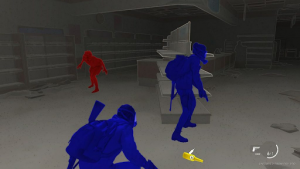 Screenshot of accessible gameplay.